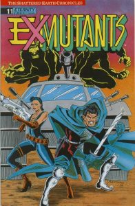 Ex-Mutants The Shattered Earth Chronicles #11 (1989)