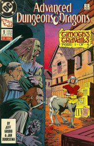 Advanced Dungeons & Dragons Comic Book #9 (1989)