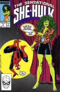 The Sensational She-Hulk #3 (1989)