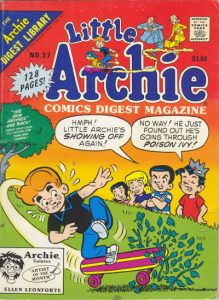 Little Archie Comics Digest Magazine #37 (1989)