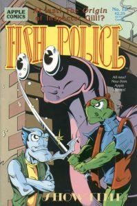 Fish Police #18 (1989)
