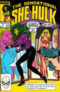 The Sensational She-Hulk #4 (1989)