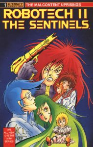 Robotech II: The Sentinels: The Malcontent Uprisings #1 (1989)