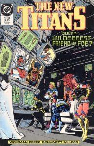 The New Titans #59 (1989)