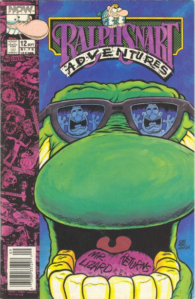Ralph Snart Adventures #12 (1989)