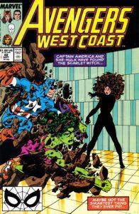 Avengers West Coast #48 (1989)
