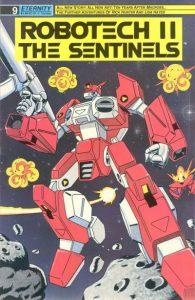 Robotech II: The Sentinels #9 (1989)
