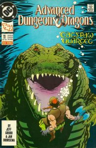 Advanced Dungeons & Dragons Comic Book #11 (1989)