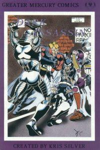 Dark Assassin #3 (1989)