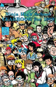 Ninja High School Yearbook #1 (1989)