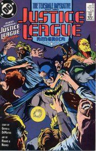 Justice League America #32 (1989)