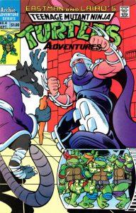 Teenage Mutant Ninja Turtles Adventures #4 (1989)