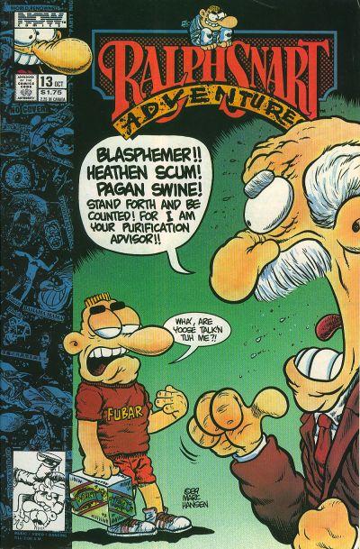 Ralph Snart Adventures #13 (1989)