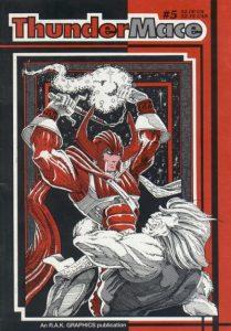 Thunder Mace #5 (1989)