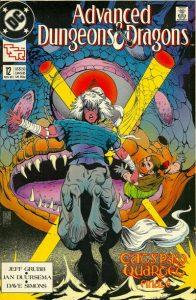 Advanced Dungeons & Dragons Comic Book #12 (1989)