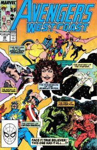 Avengers West Coast #49 (1989)