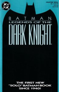 Batman: Legends of the Dark Knight #1 (1989)