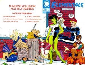 Elementals #9 (1989)