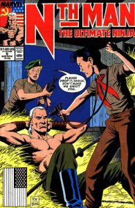 Nth Man the Ultimate Ninja #5 (1989)
