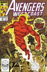 Avengers West Coast #50 (1989)