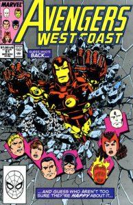 Avengers West Coast #51 (1989)