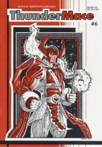Thunder Mace #6 (1989)