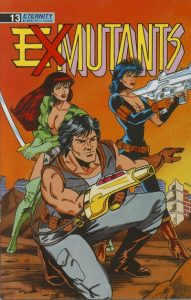 Ex-Mutants The Shattered Earth Chronicles #13 (1989)