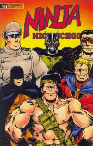 Ninja High School #16 (1989)