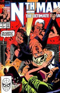 Nth Man the Ultimate Ninja #7 (1989)