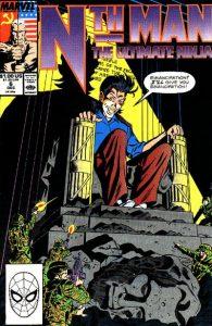 Nth Man the Ultimate Ninja #6 (1989)