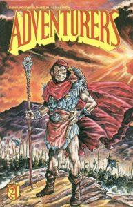 Adventurers Book III #3 (1989)