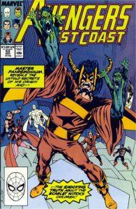 Avengers West Coast #52 (1989)