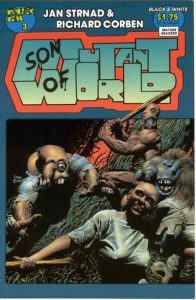 Son of Mutant World #3 (1990)