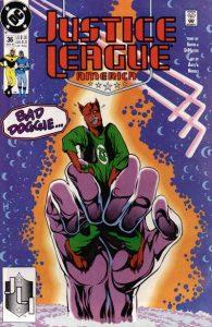 Justice League America #36 (1990)