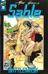 Mike Grell's Sable #4 (1990)
