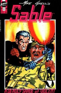 Mike Grell's Sable #6 (1990)