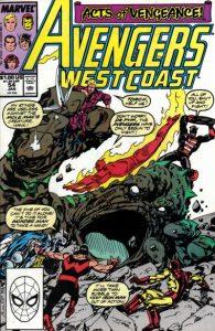 Avengers West Coast #54 (1990)