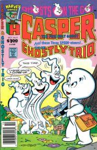 Casper and the Ghostly Trio #9 (1990)