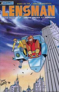 Lensman: The Secret of the Lens #4 (1990)