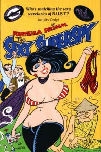 Sexy Superspy #2 (1990)