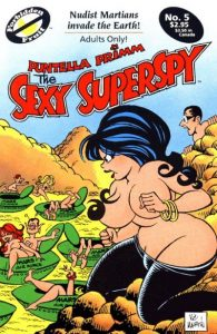 Sexy Superspy #5 (1990)