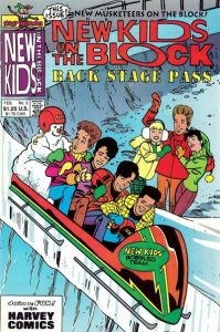 New Kids on the Block Backstage Pass #3 (1990)