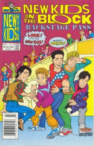 New Kids on the Block Backstage Pass #4 (1990)