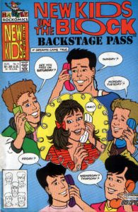 New Kids on the Block Backstage Pass #6 (1990)