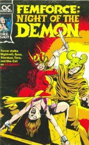 FemForce: Night of the Demon #[nn] (1990)