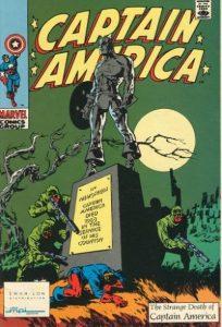 Captain America: The Strange Death of Captain America #113 (1990)