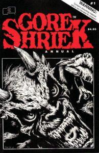 Gore Shriek Annual #1 (1990)