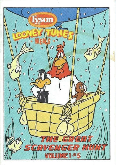 Looney Tunes [Tyson Giveaways] #5 (1990)