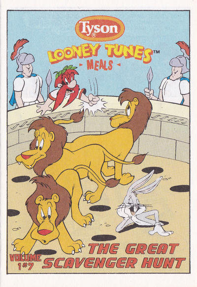 Looney Tunes [Tyson Giveaways] #7 (1990)