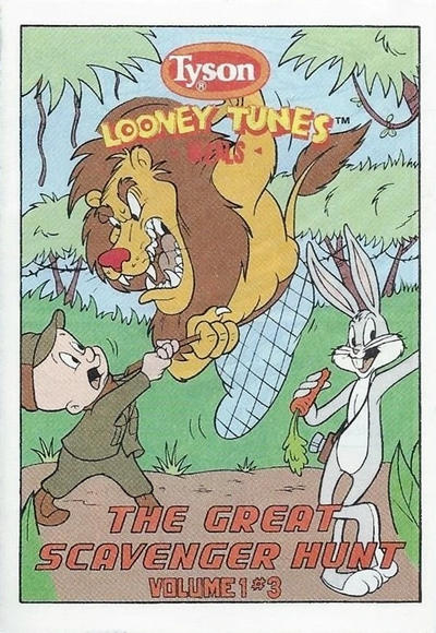 Looney Tunes [Tyson Giveaways] #3 (1990)